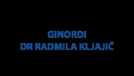 Ginordi- Dr Radmila Kljajić