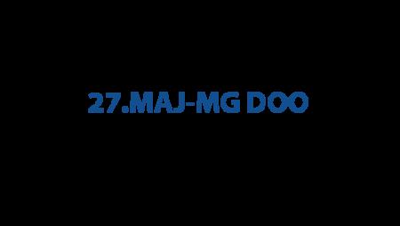 27.maj-MG DOO