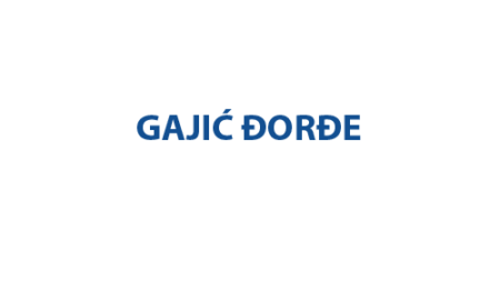 Gajić Đorđe
