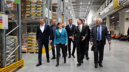Premijerka Srbije na otvaranju novog logističkog centra u Inđiji