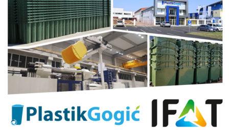 Plastik Gogić na međunarodnom sajmu IFAT 2018